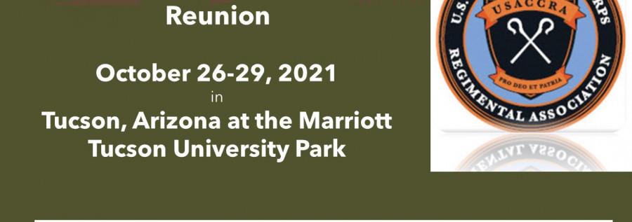 USACCRA Reunion Flier